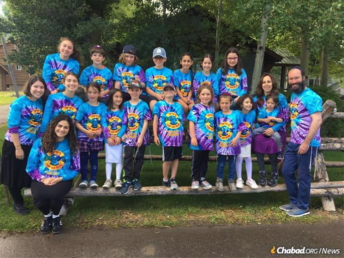 Summer camp is a good opportunity for Chayale to help others learn about and appreciate Judaism.