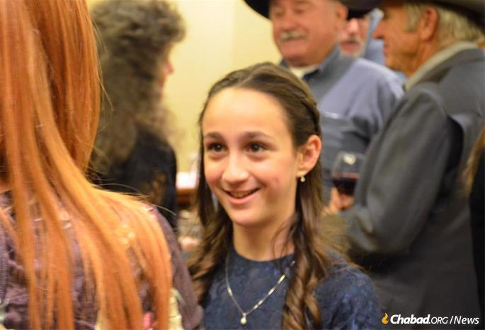 Chayale Mendelsohn recently celebrated her bat mitzvah in her hometown of Jackson Hole, Wyoming.