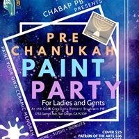 Pre Chanukah Paint Party 2019