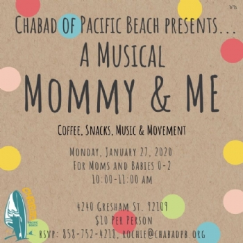 Musical Mommy and Me- February 24th
