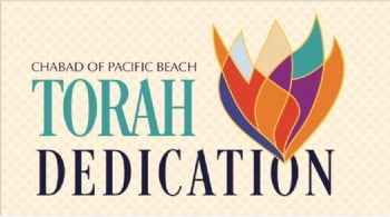 Chabad of Pacific Beach Torah Dedication 2018
