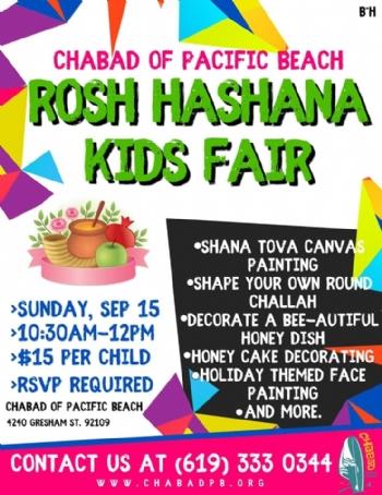 Rosh Hashana Kids Fair 2019