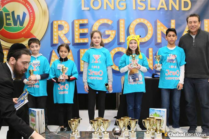 All the day's winners will become part of the newly minted Long Island team set to participate in the international JewQ competition in New York City on March 15.