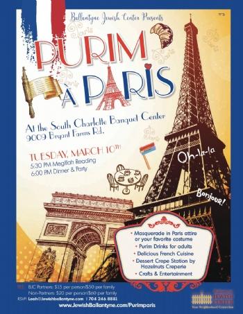 Purim in Paris