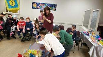 Hebrew School Chanukah 2019