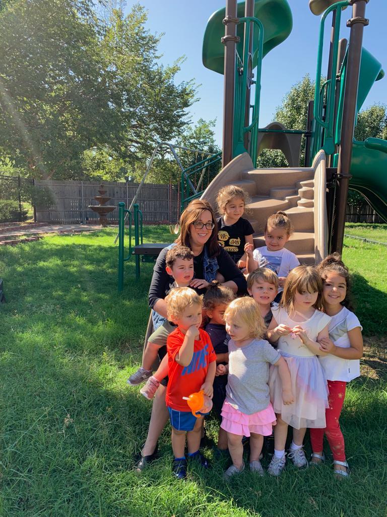 Nechoma With Kids.JPG