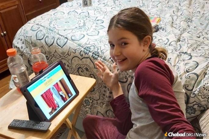 When Hebrew school first went online in March, Suzy Venit was shouting out the answers to the quizzes.