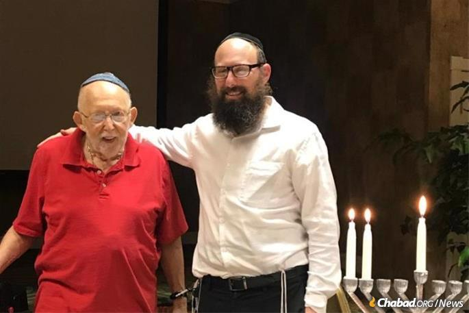 Rabbi Menachem Smith who, together with his wife, Devorah Leah, directs Chabad's United Jewish Generations of Dade and Broward County, Fla., has learned his fair share of adapting.