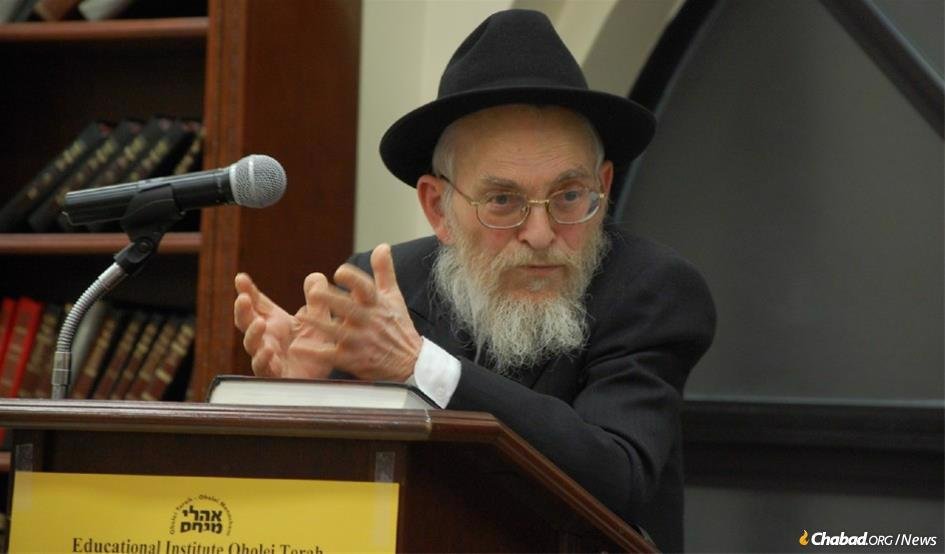 """Rabbi Yisroel Friedman served as the senior rosh yeshivah (head of the academy) at Talmudic Seminary Oholei Torah in Brooklyn, N.Y., for more than 50 years. He became known as the very personification of """"a Chassidisher rosh yeshivah."""" He was also a member of the Central Committee of Chabad-Lubavitch Rabbis (Vaad Rabonei Lubavitch Haklali)."""