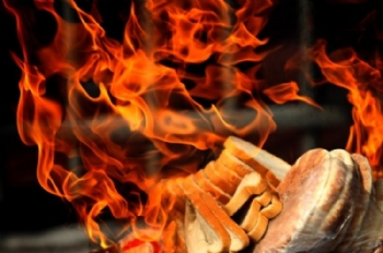 How to burn chometz?