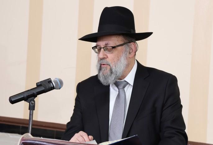 Rabbi Nachum Cooper (Photo: The Chesed Fund)