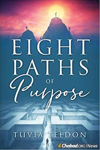 """The book """"Eight Paths of Purpose"""" serves as the foundation of the course."""
