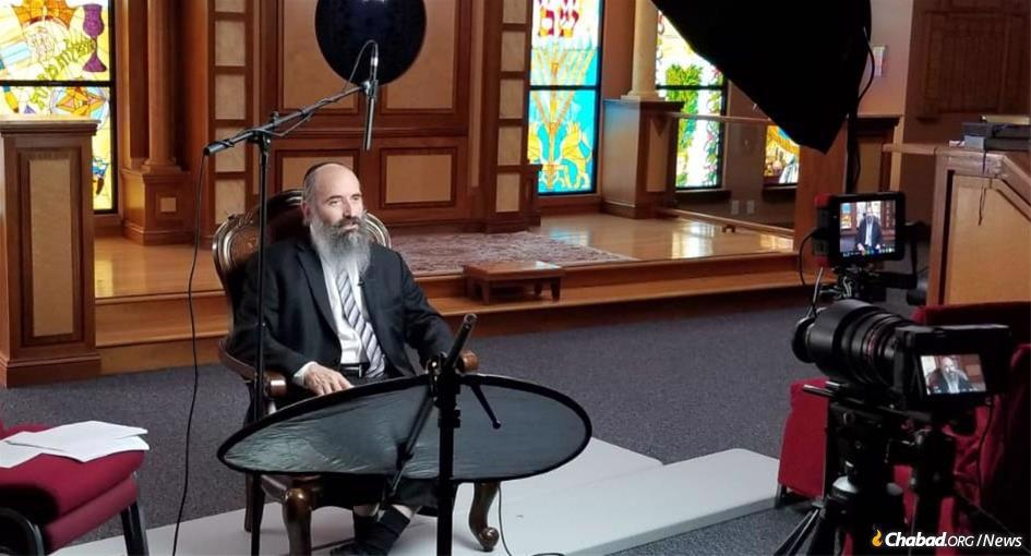 """Rabbi Tuvia Teldon will host """"Your Path to Purpose,"""" a four-week video course on Chabad.org beginning on Thursday, April 30."""