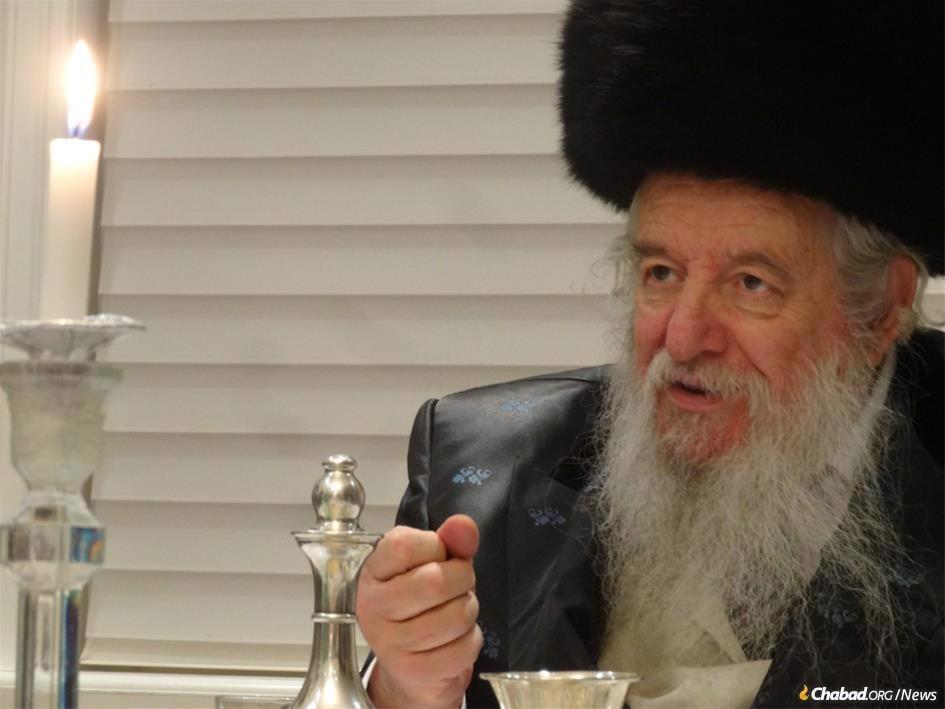 Rabbi Yaakov Perlow, the Novominsker Rebbe