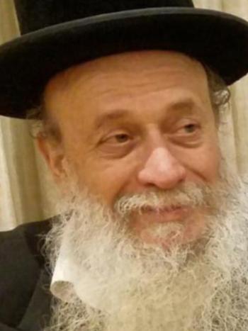 Rabbi Yisroel Menachem Rosenberg (Photo: The Chesed Fund)