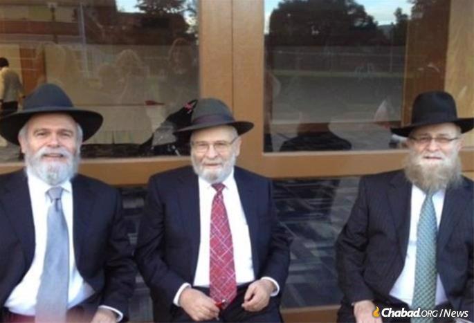 Chaim Itche Drizin, Sholom Ber Drizin and Mendel Drizen