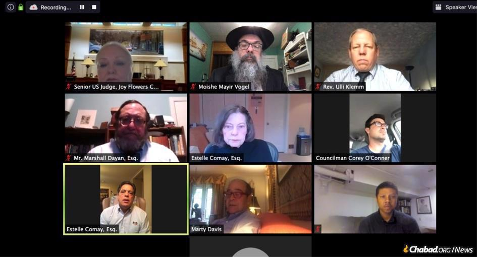 """At the 12th annual """"Second Chance"""" Symposium, government officials, experts in the field, the head of corrections in Pennsylvania, and regional and head chaplains from prisons joined via Zoom, shedding light on the critical work of the Aleph Institute, both in the community and behind bars."""