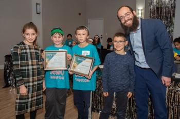 Hebrew school end of year celebration 5780
