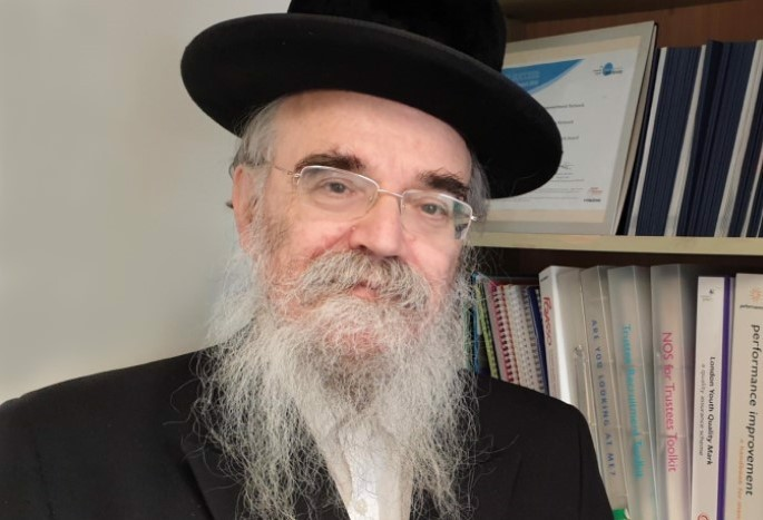 Rabbi Avrohom Pinter (Photo: Kavod Acharon)
