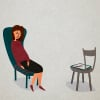 A Grief Therapist Faces Grief