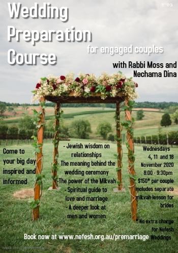 Wedding Preparation Course