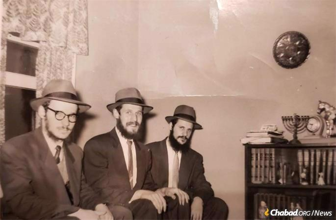 Rabbi Schwei, left, was known for his kindness throghout his life.