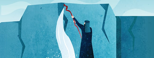 Histórias: Por Que Moshê Bateu na Pedra?