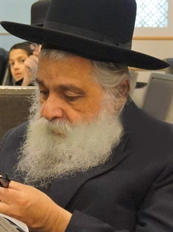 Rabbi Yosef Bokchin (Photo: BoroPark24)