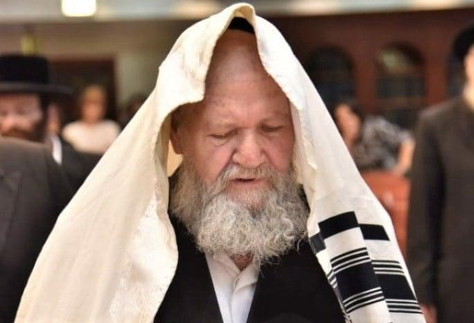 Rabbi Nachman Dov Haller (Photo: Yehoshua Procter/Kikar Shabbat)