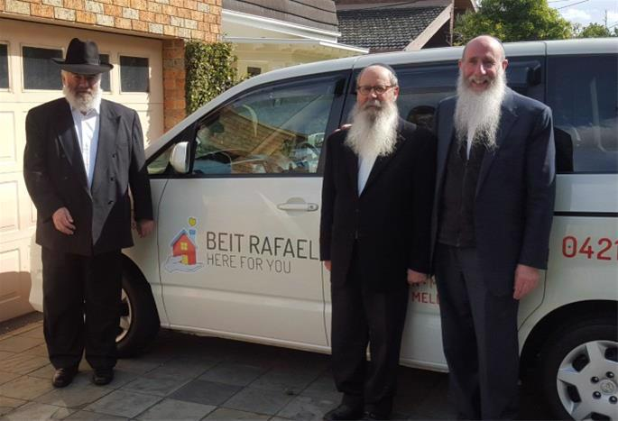 In recent years, Rosenbaum, left, was a mainstay in the Melbourne Jewish community and active in many charitable organizations there.