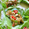 Asian-Inspired Chicken Lettuce Cup Wraps