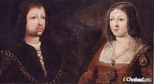 Isabella and Ferdinand are known for completing the Reconquista, ordering conversion of the Jews and Muslims in Spain.