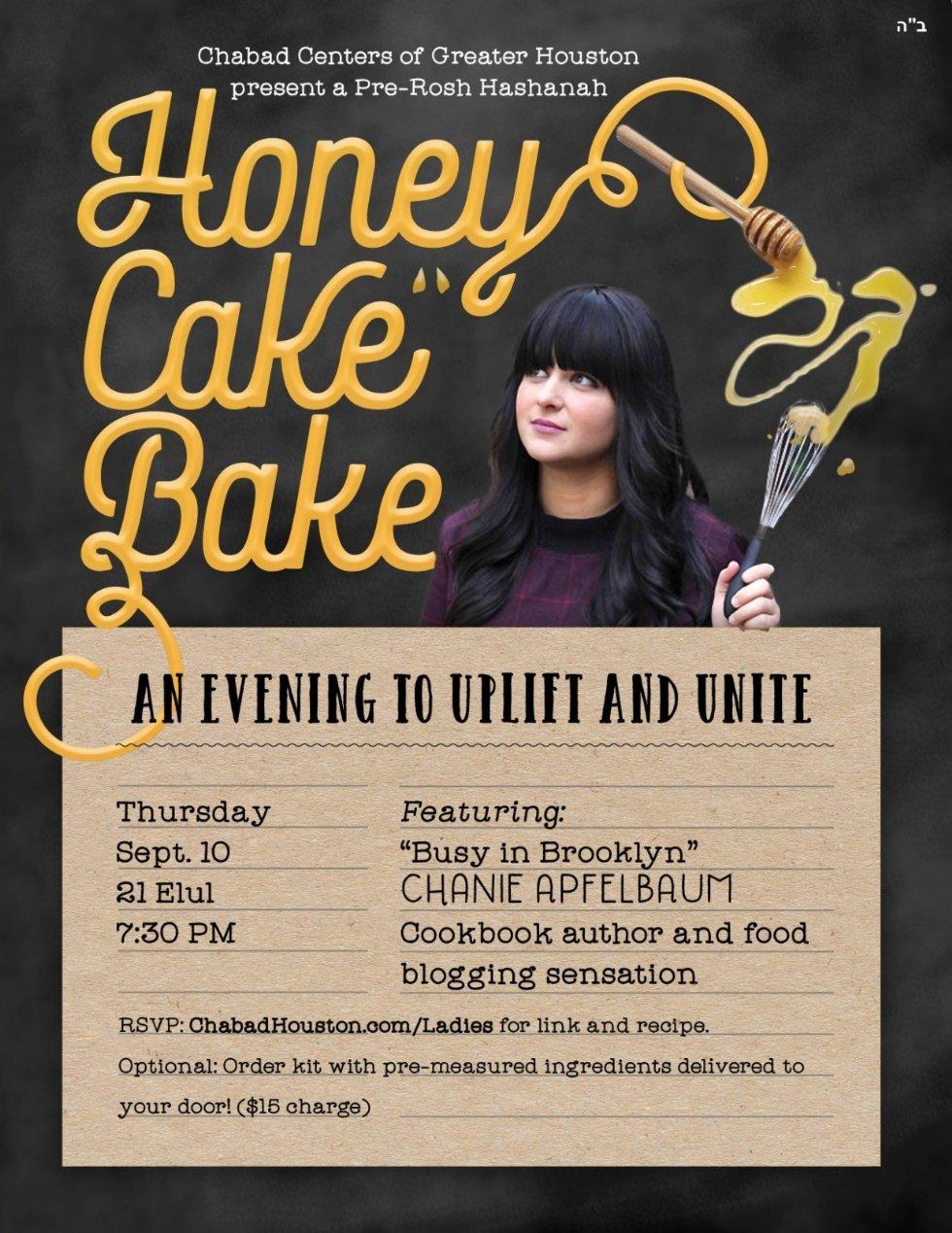 Honey Cake Bake