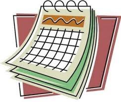 Hebrew School Calendar - 5782 (2021-22)