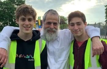Rabbi & His Mitzvah Men