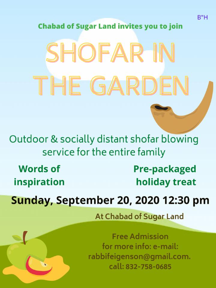 Shofar in the Garden - Sugar Land