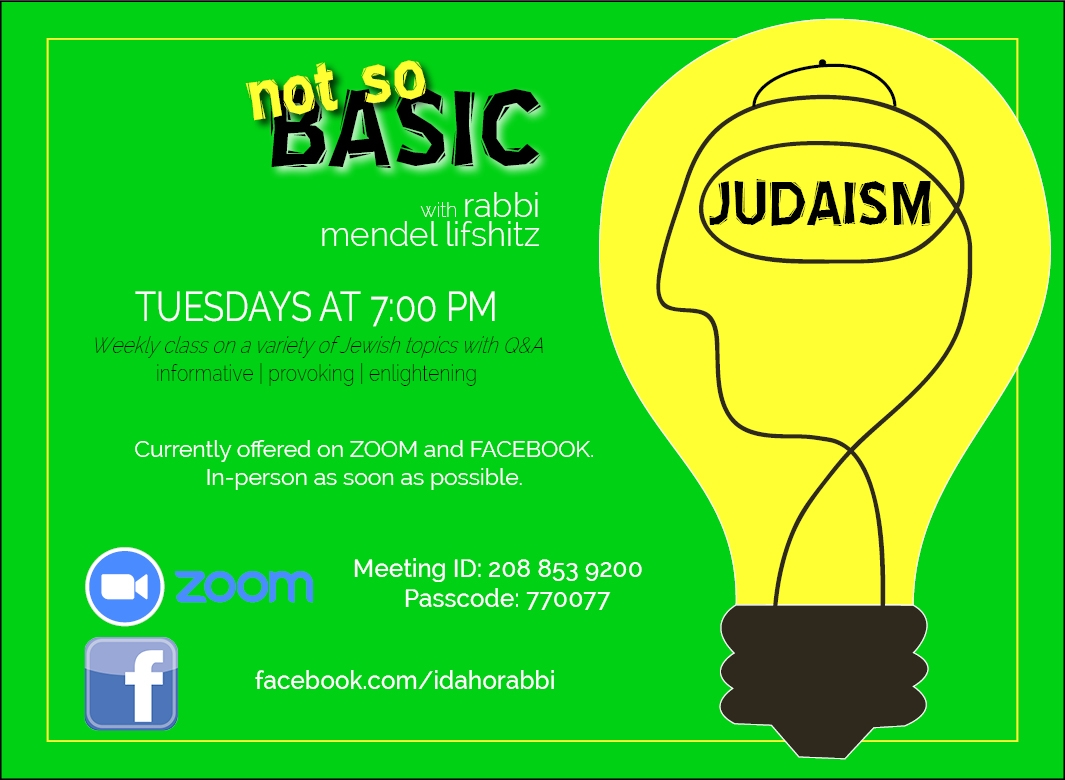 not so basic judaism.jpg