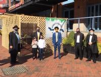 Council President Scott & Councilman Costello's Visit Sukkah