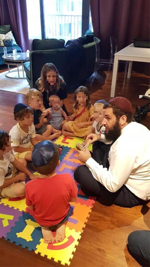 Duchman's Talmud Torah provides Jewish learning to some 40 students in the country.