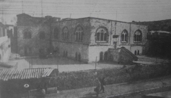 Beit Romano, a large campus purchased by Rabbi Shalom DovBer in the holy city of Hebron.
