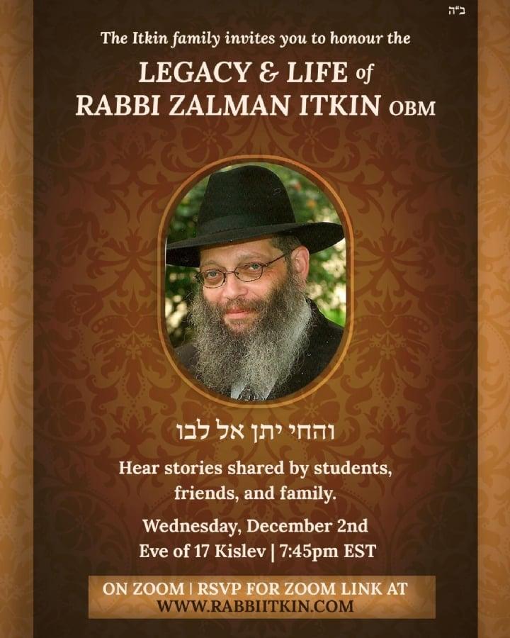 Rabbi Itkin