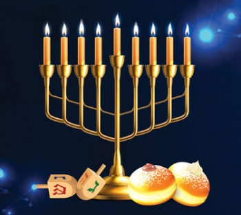 Chanukah Together at Home