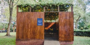 Sukkah at Madison Square Park