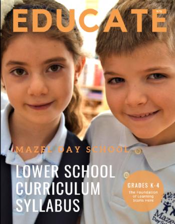 Lower School Curriculum Syllabus