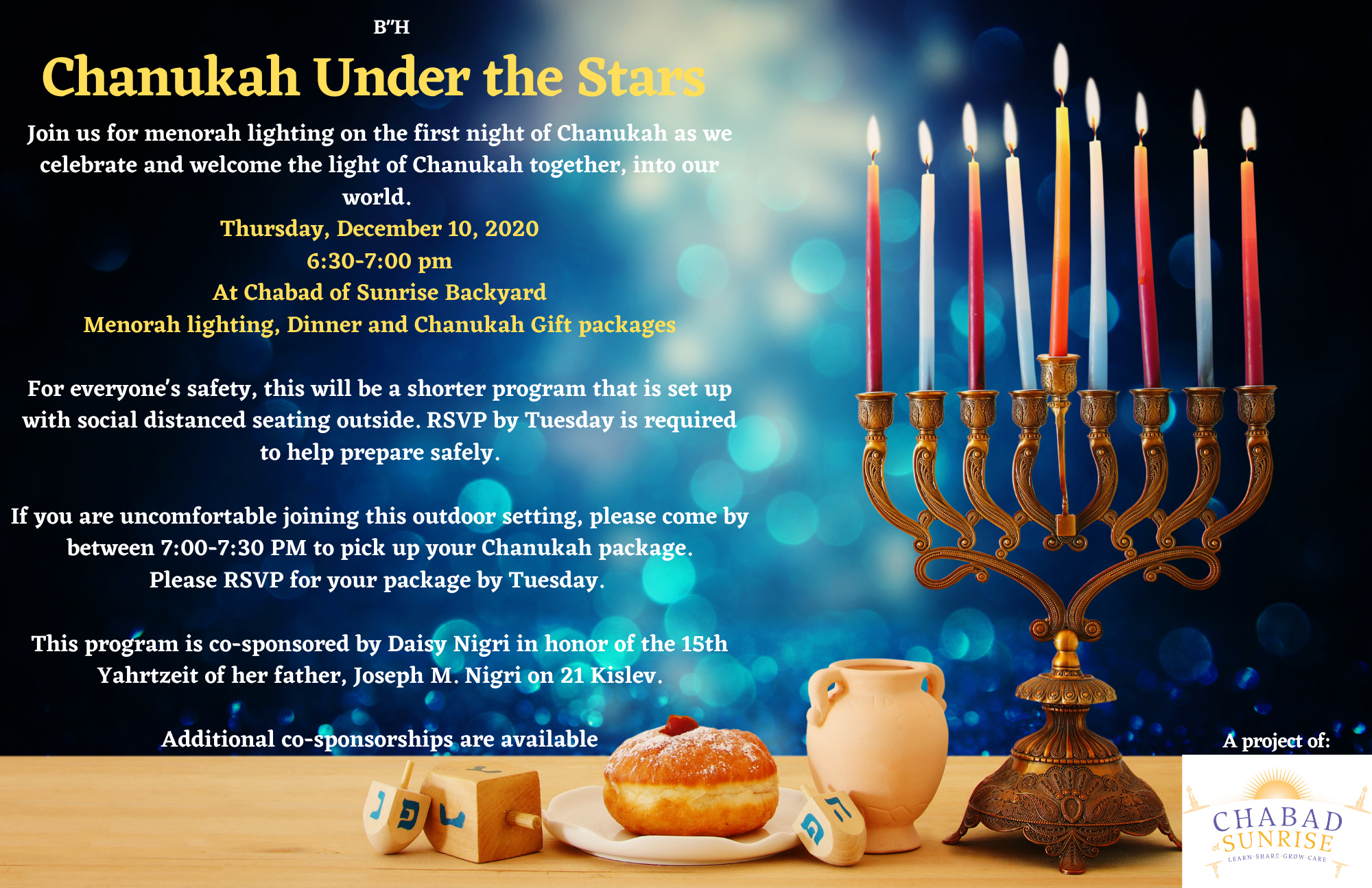 Chanukah under the open sky & Gift packages.png