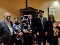 Harold Juter Torah Welcoming