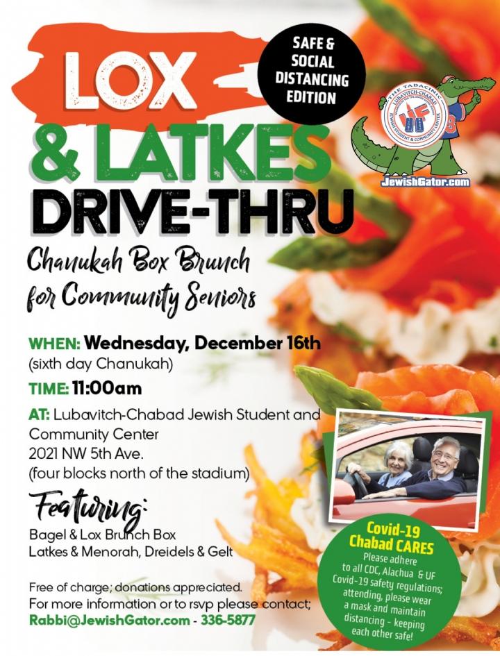 Lox n Latkes Drive-Thru Chabad UF 2020.jpg