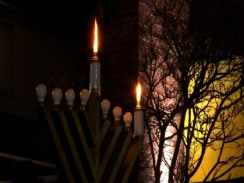 Friendship Circle Celebrate Start of Hanukkah
