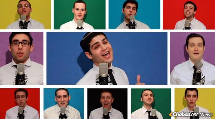 The popular Jewish a capella group, the Maccabeats, will be featured as part of the online celebration.