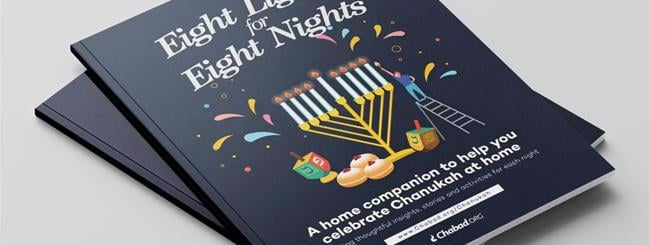 The Chabad.org Blog: New Chabad.org Publication Provides Inspiration and Fun for Chanukah at Home